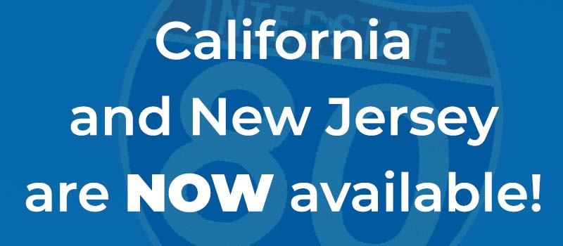 PIA and PPC available in CA and NJ