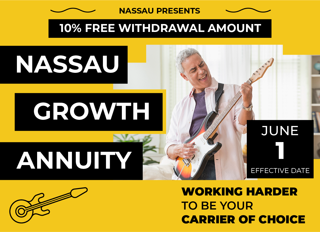 Get Amped: Nassau Growth Annuity's 10% Free Withdrawal Amount